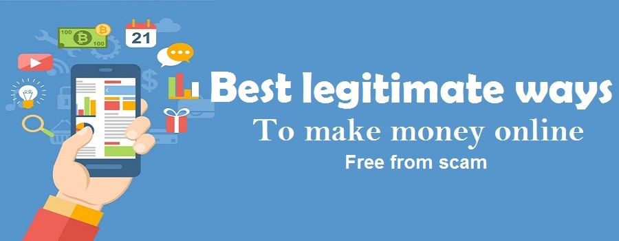 Top legitimate ways to make money online