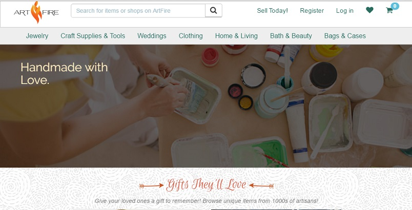 artfire online craft selling