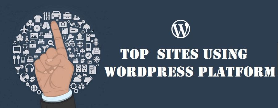 Top notable sites using wordpress platform
