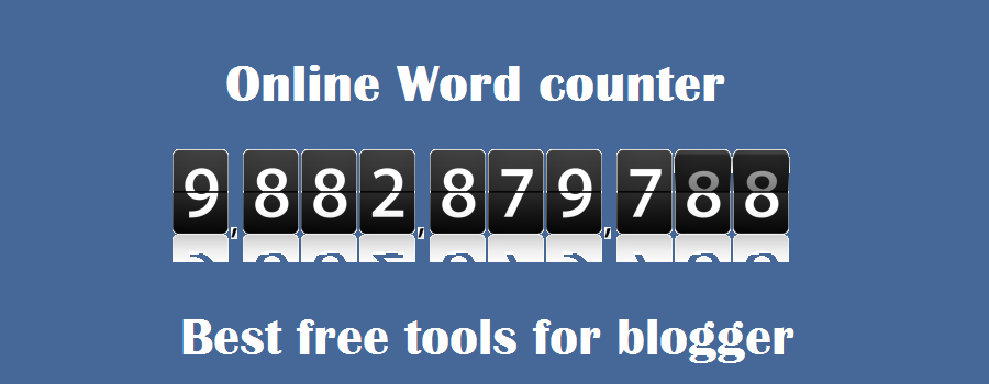 7 Best online word counter tool for writer & blogger