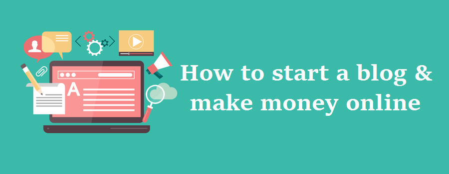 How easy to start a blog & make money online - in just minutes