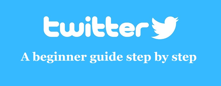 Twitter step by step guide for beginner [Screen shot]