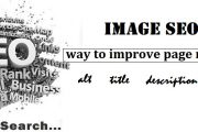 SEO image optimization : Best way to improve page ranking