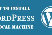 How to install wordpress locally [step by step guide with screenshot]