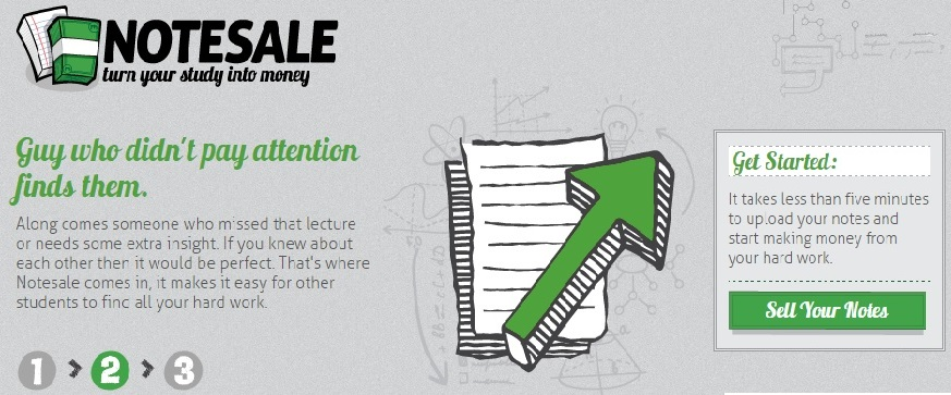 sell your class notes on Notesale