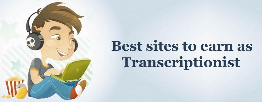 Earn money by online transcription jobs