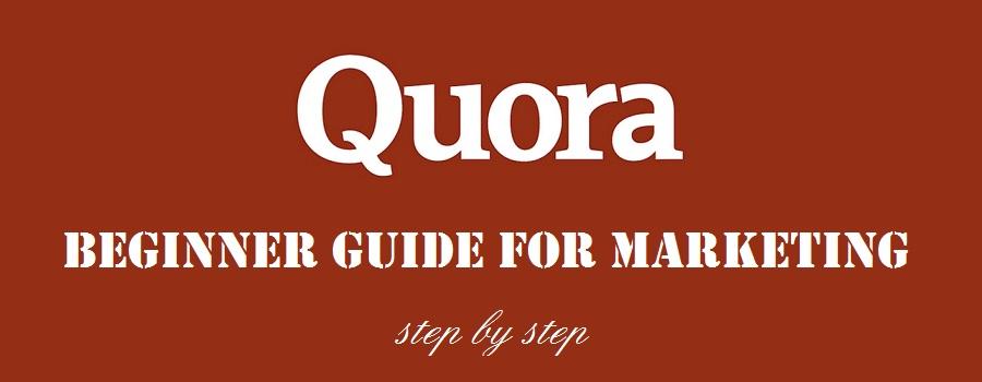 quora marketing guide