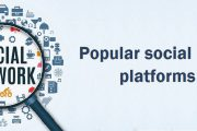 List of most popular social media sites in world