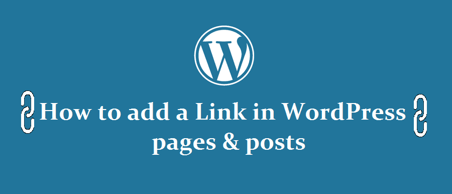 link in wordpress