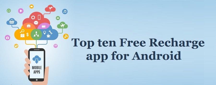 Top ten free mobile recharge app