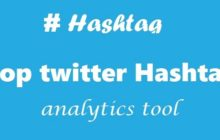 Top twitter Hashtag analytics tool