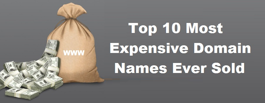 Top 10 Most Expensive Domain Names Ever Sold