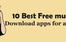 10 Best Free music download apps for android