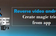 Amazing reverse video app - Create magic trick from app