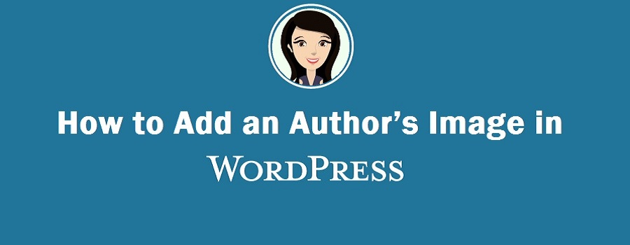 How to Add an wordpress author image