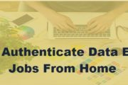 Top 10 Authenticate Data Entry Jobs From Home