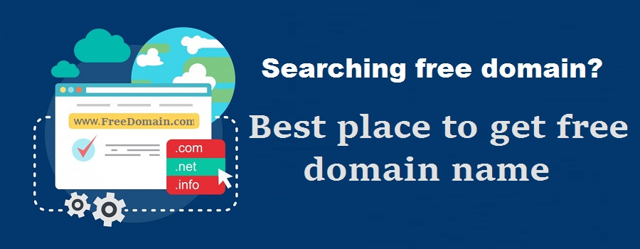 Searching free domain? Check best place to get free domain name