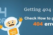 Getting 404 error?  Check here How to get rid of 404 error