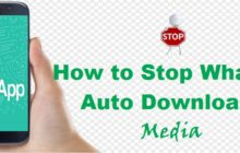 Whatsapp: How to Stop Auto Downloading and Saving of media automatically