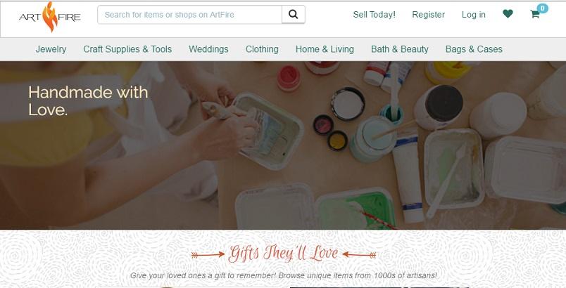 artfire online craft selling