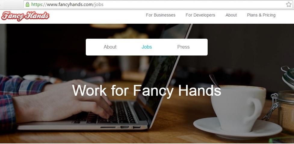 fancyhands-online-job