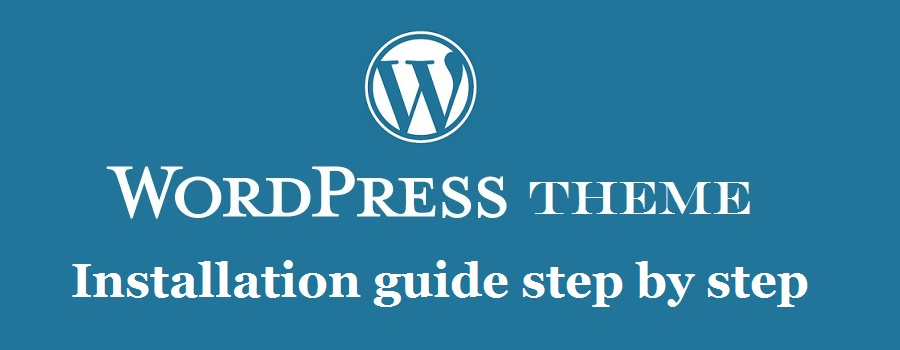 install wordpress theme