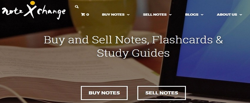 sell notes online at Notexchange