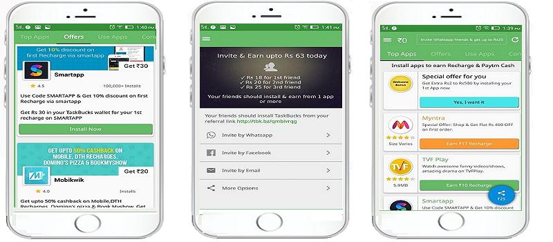 taskbucks-free-recharge-apps