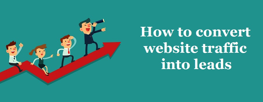 website traffic to leads