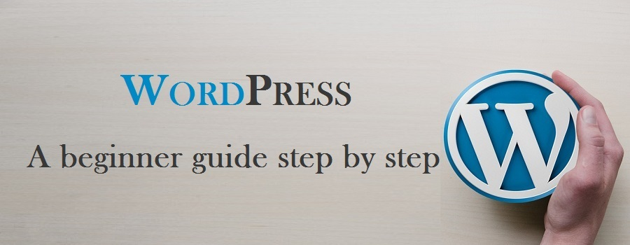 wordpress tutorial for beginners step by step