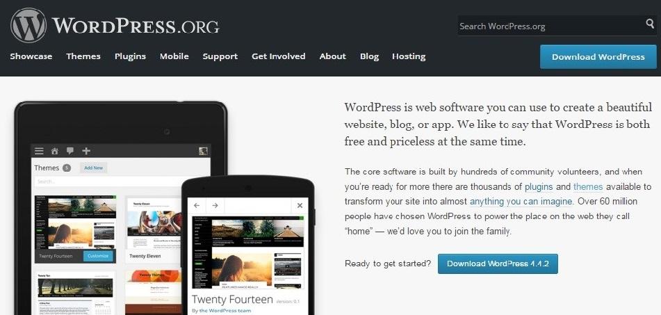 wordpress.org - content management system
