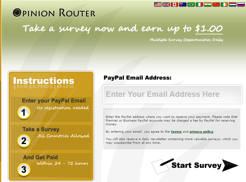 opinionrouter-earning-online