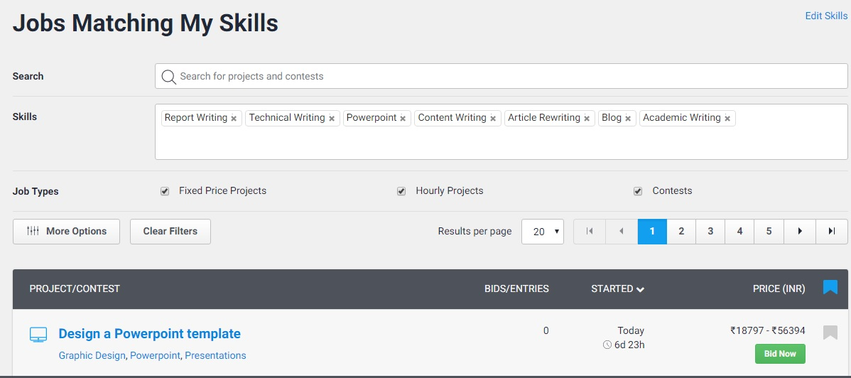 freelancer-job-search