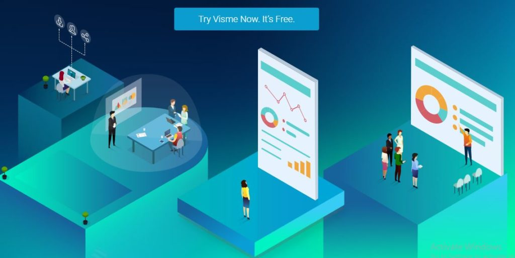 visme infographics design