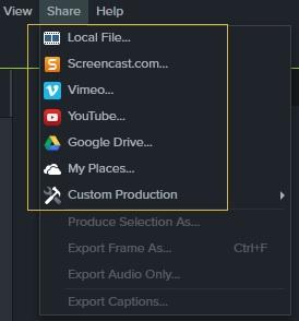 video-sharing-option
