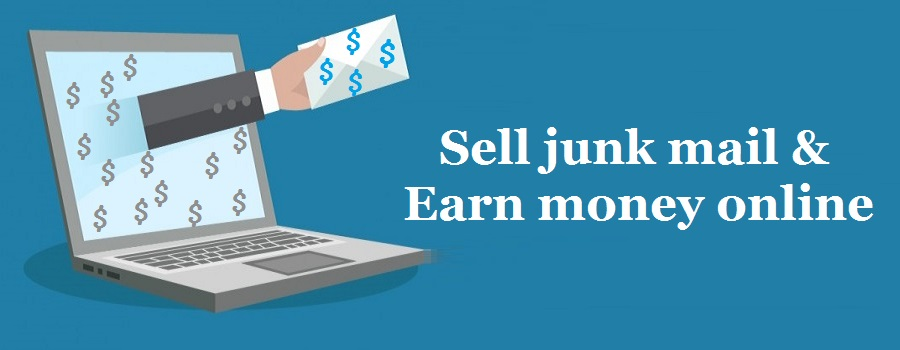 How to make money online by selling junk mail