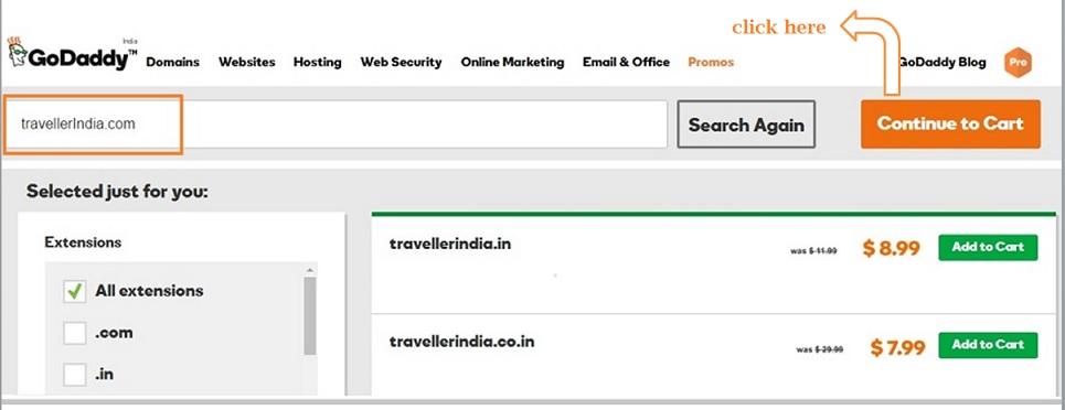 godaddy-domain-name-price