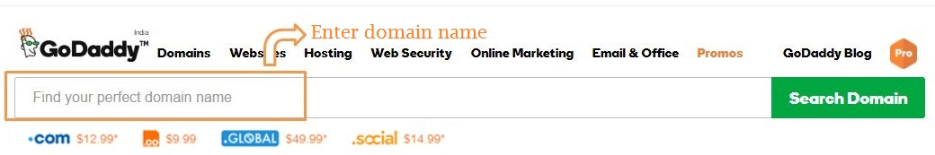 godaddy-domain-name-searching