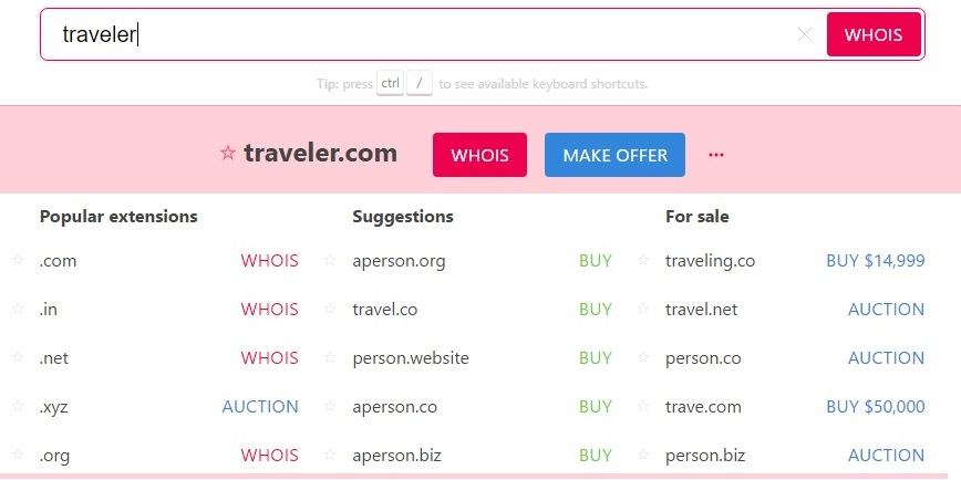 instantdomainsearch-domain-name-idea-tool