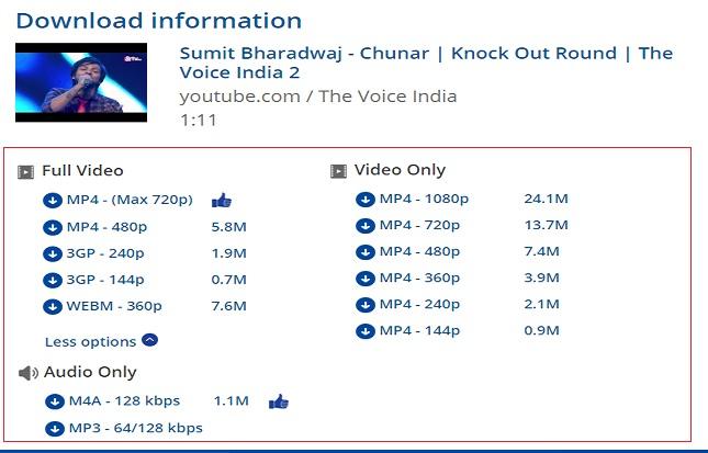 keepvid-video-format