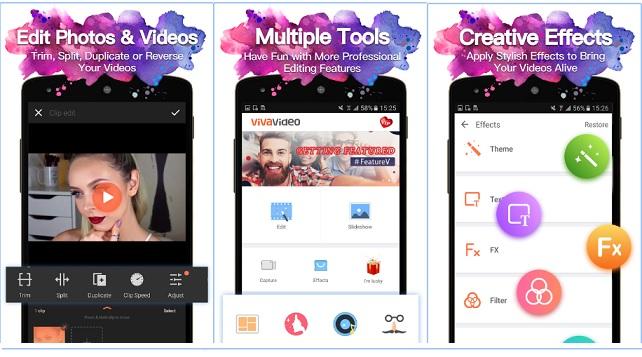 VivaVideo-video-editing-app