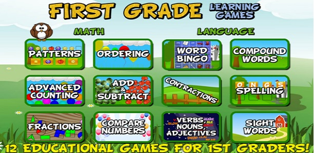 first-grade-learning-games-android-app