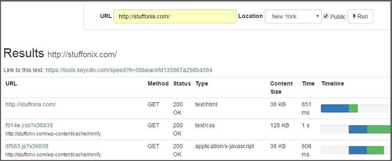 keycdn-website-testing-tool