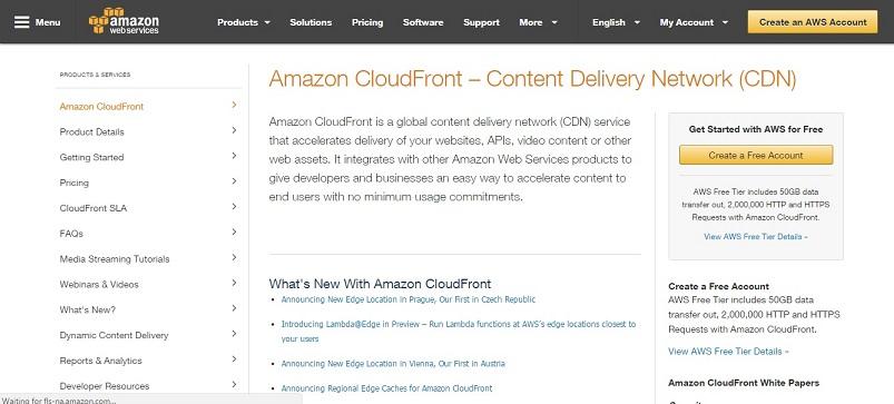 Amazon-CloudFront-free-cdn