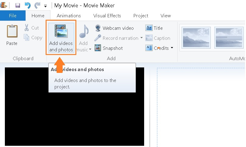 window-movie-maker-video-import