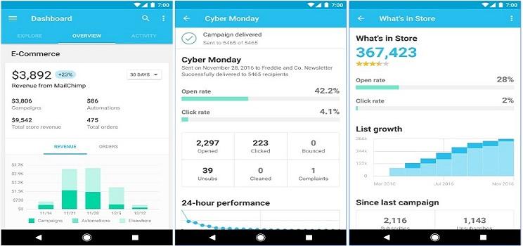 MailChimp-marketing-app