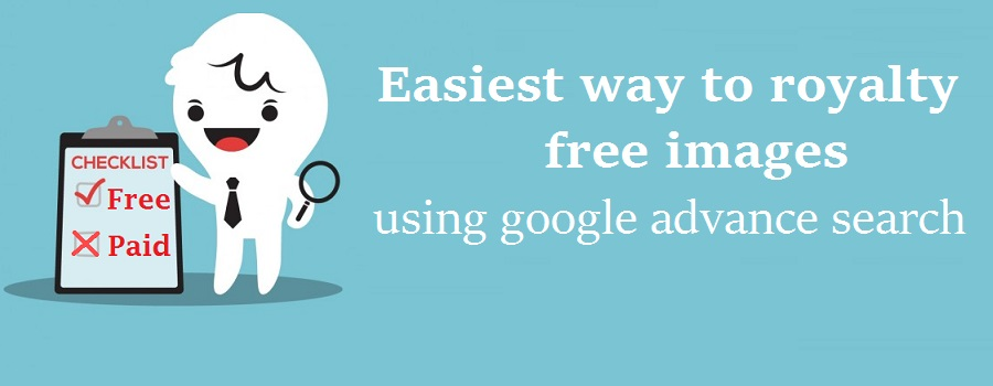 Easiest way to royalty free images from google advance search