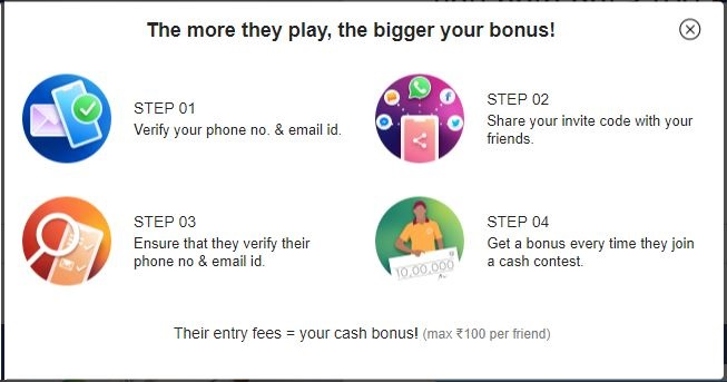 Refer And Earn Apps - Refer 2 Friends And Get Paid 700 INR Daily