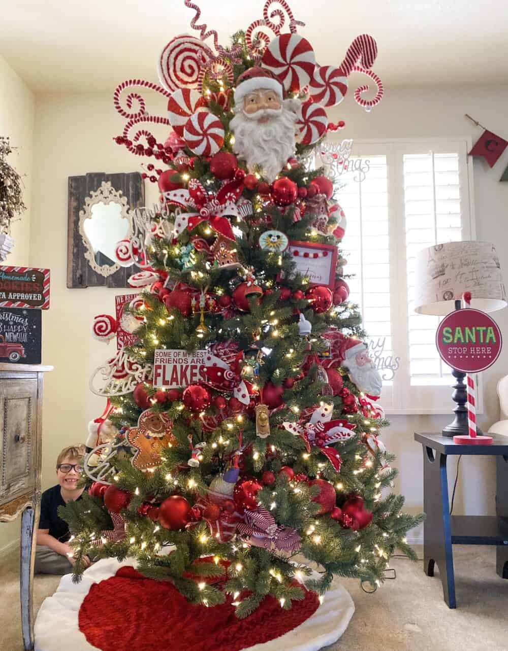 Christmas Tree Decorated Images - Free Download