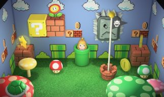 Warp Pipe in Animal Crossing Island